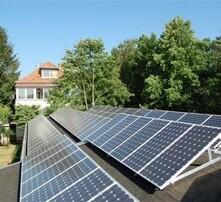 长沙新建小区太阳能图片