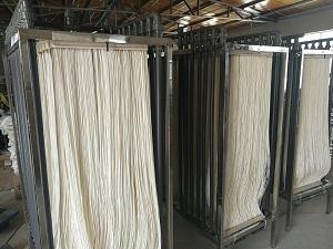 山东MBR膜生产厂家万熙环保帘式PVDF加衬增强型膜组
