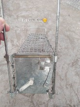 水貂配种用串笼图片