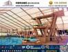 上海簡易棚房,多邊尖頂庫房棚庫篷房租賃