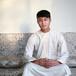 阿拉伯男士长袖绣花大袍穆斯林长袍白袍