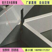 集成吊顶装饰100100铝格栅花式铝格栅卡口拼接格栅吊顶图片