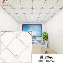 铝扣板厂家直销工程600600板铝合金方块吊顶装饰材料图片