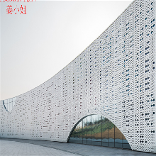 铝单板生产厂家直销铝单板幕墙冲孔铝单板穿孔铝幕墙图片