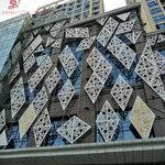 造型10mm雕花板雕刻板镂空雕刻铝单板建筑装饰材料