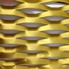 金属扩张网板弧形造型铝网板门头造型网格板天花吊顶板