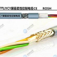 玻璃机械电缆,玻璃切割机电缆,玻璃机械拖链电缆,AC-FLEX801图片