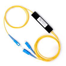 纤亿通分光器1分8ABS盒式光分路器SC接头纤长1米。