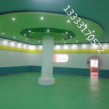 pvc塑胶地板幼儿园彩色卡通地板防磕碰地板