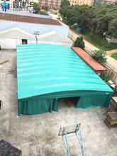 庐山区电动雨篷悬空式伸缩雨棚尺寸任意定做图片