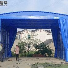 九江县鑫建华生产PVC雨篷价格推拉雨棚_供应信息图片