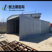 北京房山电动推拉篷移动推拉雨棚仓储蓬物流蓬图片