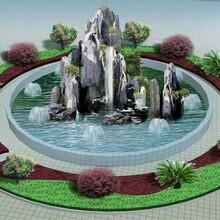 嘉陵假山丶假树丶塑石假山丶仿木栏杆价格优惠图片