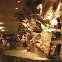 神木县假山丶假树丶塑石假山丶仿木栏杆厂家直销图片