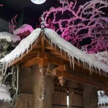 灵璧县假山丶假树丶塑石假山丶仿木栏杆专业制作图片