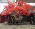 灵寿县假山丶假树丶塑石假山丶仿木栏杆价格多少