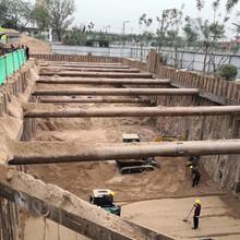 忻州鋼板樁施工、打樁機租賃、山西鋼板樁施工、打樁機租賃圖片