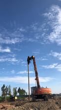 晋城钢板桩、晋城钢板桩施工、晋城打桩机租赁图片