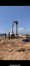 阳泉钢板桩施工、钢板桩施工队、钢板桩围堰基坑图片