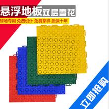 柳州弹性软垫悬浮拼装地板生产制造商图片