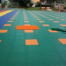 獻縣河北省硅PU塑膠球場拼裝地板廠家圖片