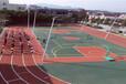 石家庄塑胶硅pu篮球场体育球场围网施工安装厂家