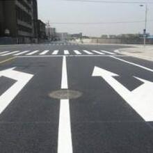 广州道路划线公司浅析热熔减速带划线的特点