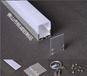 佛山铭诚MC3545led吊线灯铝槽铝型材外壳套件室内吊线灯外壳套件led吊线灯外壳