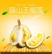 点点乐商城生鲜水果榴莲泰国进口猫山王榴莲(5斤-6斤)肉厚核小入口即化