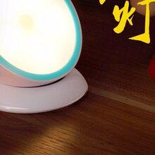 点点乐商城实智360°智能感应夜灯底座可与灯分离循环充电使用常亮和夜灯两种节能模式图片