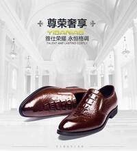 點點樂商城商務皮鞋意達鳥男鞋英倫時尚牛皮抗菌除臭高檔商務正裝鞋圖片