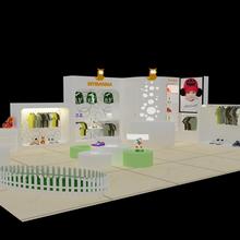 中欧国际展览承接第五十四届玩具博览会展台设计和搭建