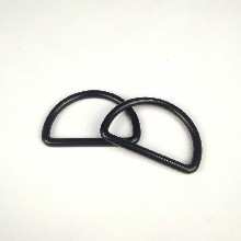 无缝D扣金属合金D字扣锌合金压铸D环半圆环内径50mm5mm图片
