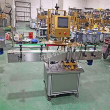 供应自动塑料旋盖机全自动喷头瓶盖旋盖机设备图片