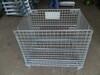 镀锌金属仓储笼可折叠式不锈钢仓储笼