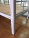 青海圓管鐵床定制員工高低床職工組合鐵床單層床規格