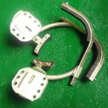 河南洛阳电工登杆安全脚扣JK锰钢脚扣规格现货可发图片
