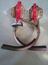 电线杆水泥杆爬树脚扣铁鞋无缝钢管脚扣JK-350价格图片