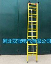 玻璃鋼絕緣梯子絕緣伸縮單梯4-10米廠家圖片