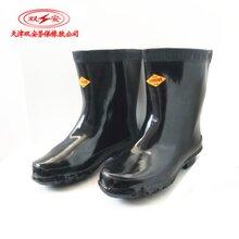 双安牌电力高压绝缘靴带电作业25kv高筒绝缘雨鞋哪家便宜图片