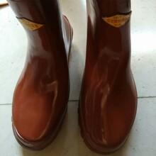 廣西雙安牌35kv絕緣靴價格電工帶電作業高筒絕緣雨鞋圖片