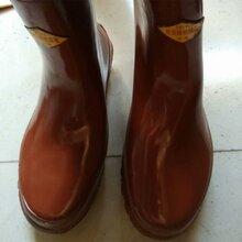 广西双安牌35kv绝缘靴价格电工带电作业高筒绝缘雨鞋图片