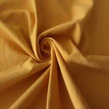 现货供应梭织平纹府绸绉布砂洗水洗全棉布料春秋女装童装纯棉面料