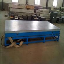 厂家直销焊接平台划线平板T型槽平板钳工工作台人工刮研平台图片
