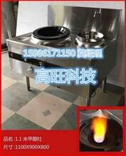 电子打火的节能醇基燃料炒炉,2018火热销售环保油单炒炉图片