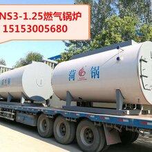 焦作市2吨燃气蒸汽锅炉价格,卧式燃气锅炉WNS2-1.25-Q燃气锅炉