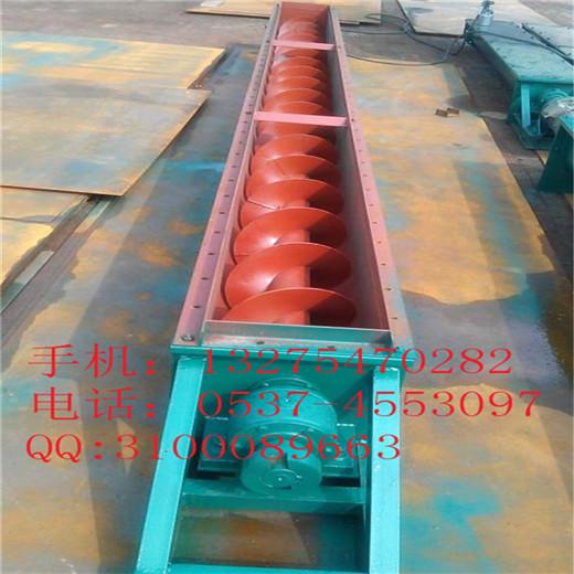 304不锈钢各种规格蛟龙输送机,U型平行螺旋送料机