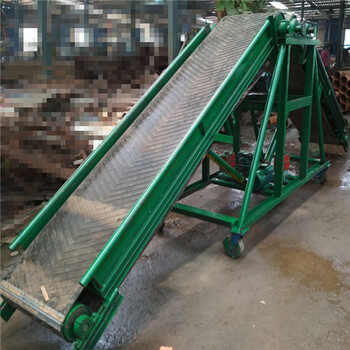 合肥批量加工升降皮带机装大车输送机