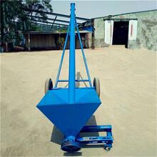 韶关市可移动式螺旋提升机倾斜式小麦粉不锈钢输送机图片