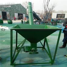 加厚叶片倾斜式螺旋提升机物料垂直提升机厂家图片